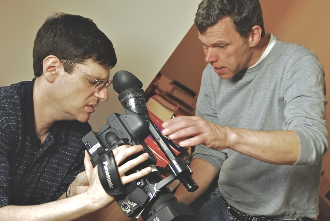 "Buddy and Director Glenn Holsten set up ""Buddy-cam"" for the first video diary entry. During the year and a half of OC87's production, Buddy recorded many entries and excerpts of them are in the film."
