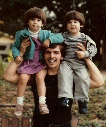 Matthew, age 20, plays with his cousins. His first psychiatric hospitalization occurred weeks later.