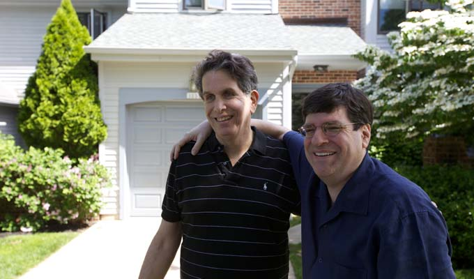 Mike Solomon & Bud Clayman