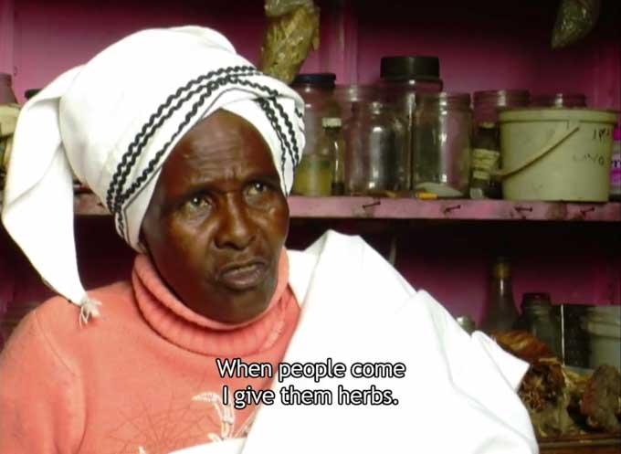 Malati / Traditional Healer Sangoma Delaney Ruston