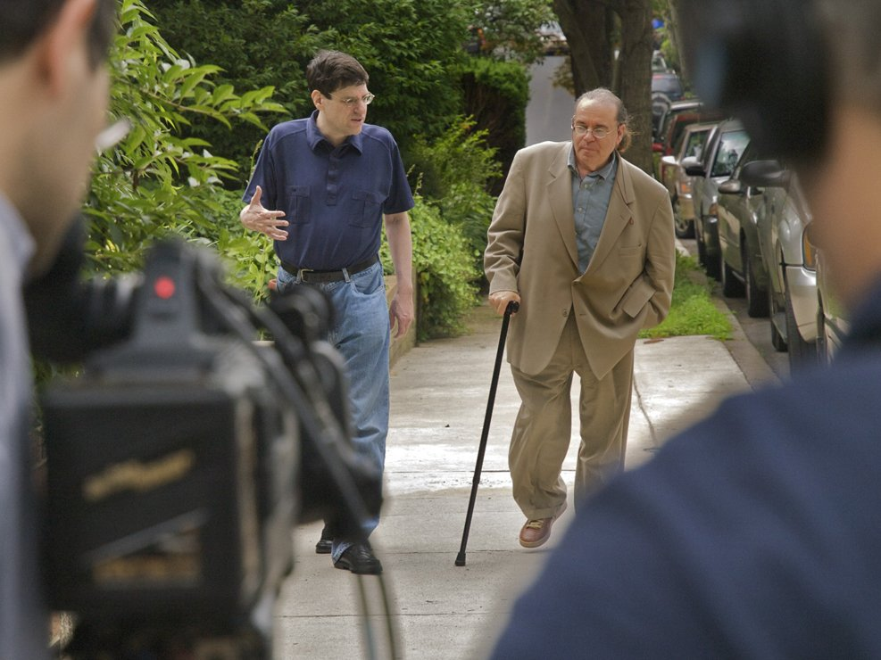 Bud Clayman and Jon Wolfman in the film OC87 - happy documentary