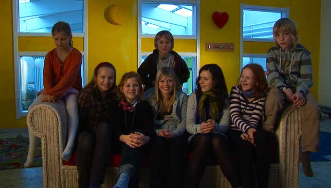Children from Denmark Co-Housing Community - happy documentary