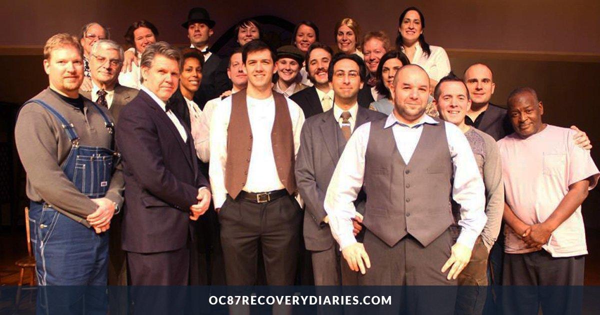 """The original MCES """"Our Town"""" Cast"""